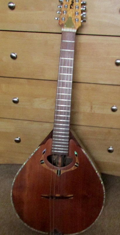 cittern cedar top carved for sale £2500